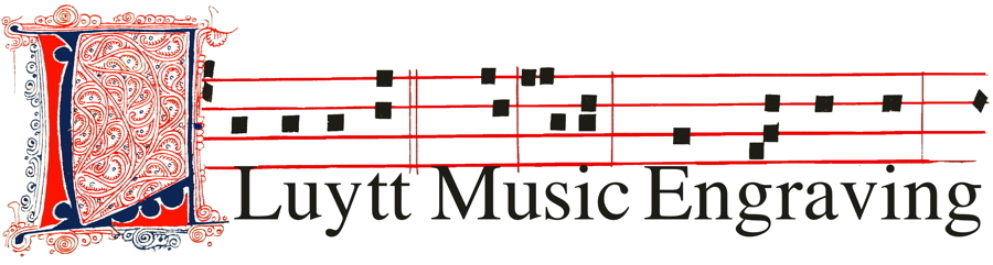 Luytt Music Engraving